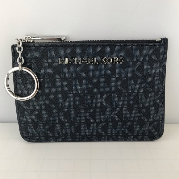 a02b348cbbfe Michael Kors Accessories | Jet Set Coin Pouch Id Key Purple | Poshmark
